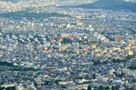 Kyoto City landscape