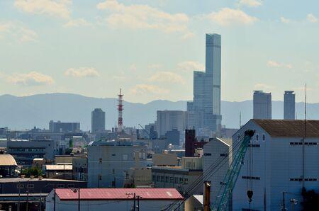Urban landscape of Osaka 写真素材