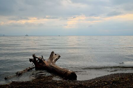 Lake Biwa in Japan Фото со стока