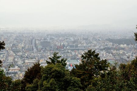Townscape of Kyoto 免版税图像