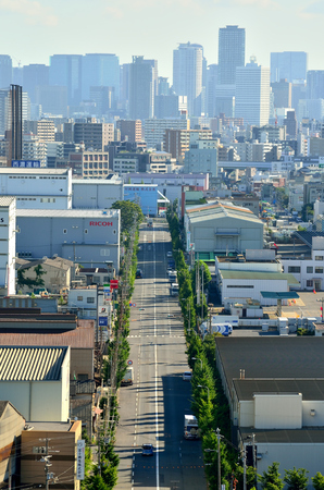 Urban landscape of Osaka 報道画像