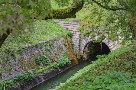 Lake Biwa Water Works Tunnel 版權商用圖片