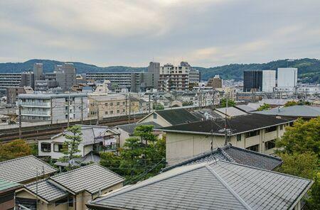 Urban landscape of Yamashina-ku, Kyoto 版權商用圖片