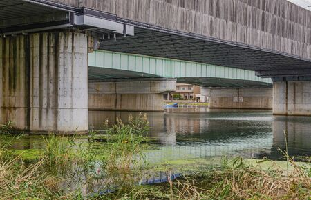 Seta River in Shiga 스톡 콘텐츠