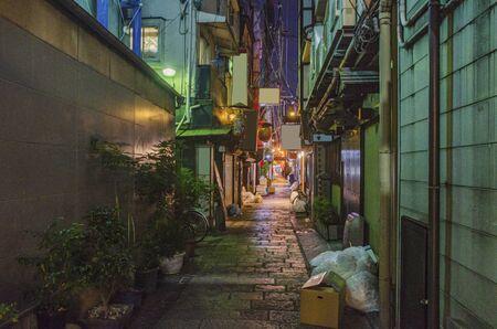 Hozenji Yokocho in Osaka