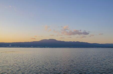 Lake Biwa in Shiga 스톡 콘텐츠