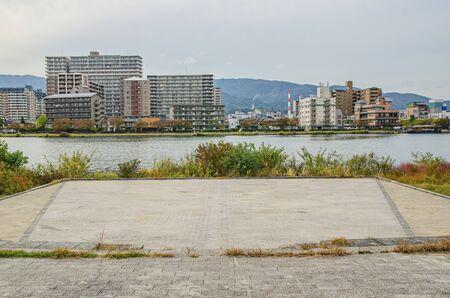 Seta River and Karahashi Park in Shiga