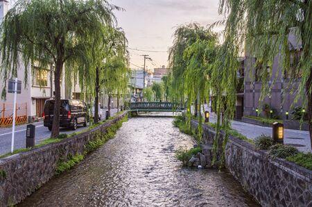 Shirakawa in Kyoto