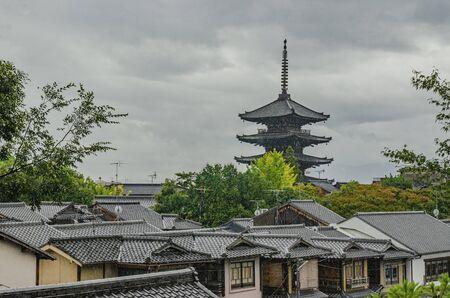 Kyoto's Yasaka Pagoda 에디토리얼