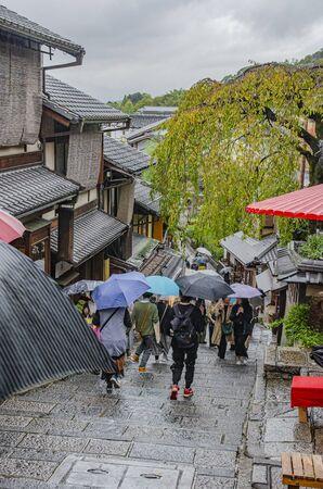 Sannenzaka in Kyoto 스톡 콘텐츠 - 138050321