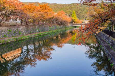 Lake Biwa Canal in Kyoto