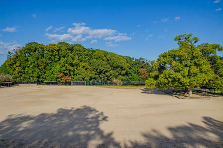 The ground of Chausuyama Park