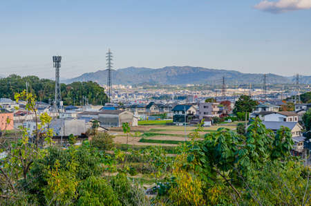 Urban scenery in Otsu City, Shiga Prefecture