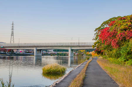 A promenade along the Seta River, Shiga Prefecture
