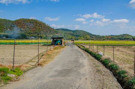 Scenery of the northern part of Kyoto City Stock Photo
