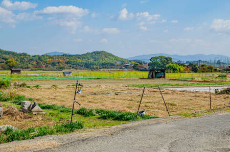 Countryside of Kyoto City