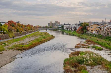 Kamogawa in Kyoto