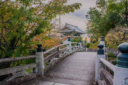 Komyoji Temple in Kyoto 에디토리얼