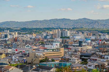 Urban scenery in Otsu City, Shiga Prefecture 에디토리얼