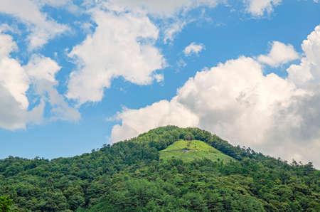 Kyoto daimonji mountain