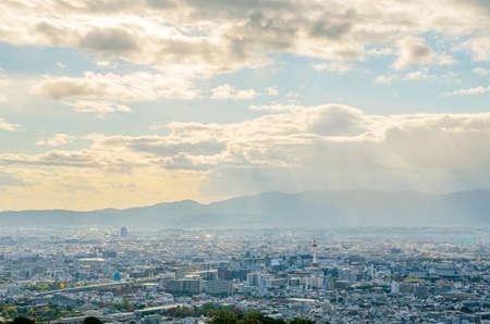 View from Shogunzuka in Kyoto 스톡 콘텐츠