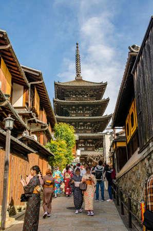 Kyoto's Yasaka pagoda