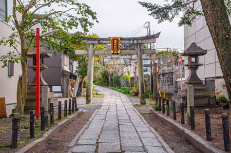 Kyoto Trail Awata Shrine 에디토리얼