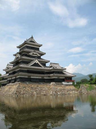 Matsumoto Castle trovati in Prefettura di Nagano in Giappone. Editoriali