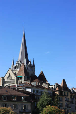 Lausanne Cathedral | Pont Bessières, Switzerland