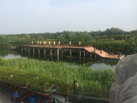 Hancheng lake scenery Editorial
