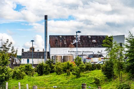 BLACFORD, PERTHSHIRE, SCOTLAND, UK, September 16, 2016  Tullibardine whiskey distillery in the highlands of scotland