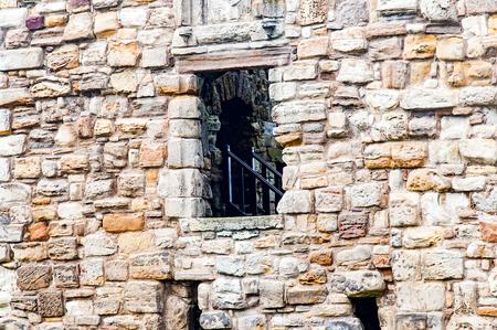 predicador: St. Andrews, Escocia, Reino Unido-Ruinas del castillo de San Andrews, St. Andrews, predicador protestante George Wishart puede haber sido encarcelado en el castillo% u2019s mazmorra.