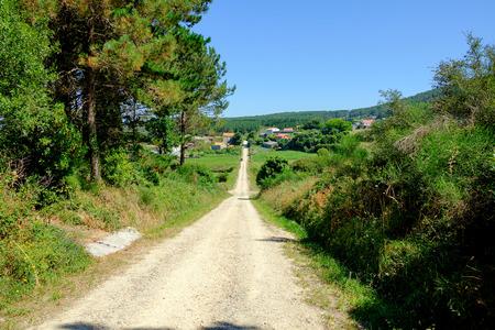 Images of Camino de Santiago and surroundings. The epilogue between Santiago and Finisterre (pilgrimage to Santiago de Compostela). Spain