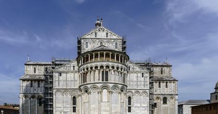 イタリアのピサの大聖堂の後陣礼拝堂 写真素材