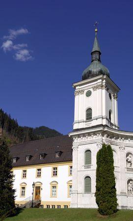 ettal: Ettal monastery near Garmisch-Partenkirchen Stock Photo