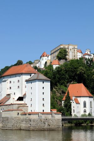 Passau  Fortress in Germany  photo