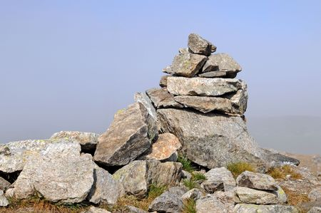 Stone cairn, also named