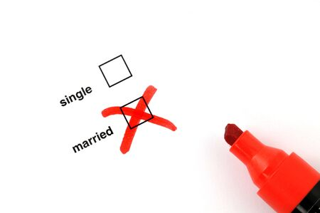 Single or married Stock Photo - 5098889