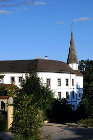 Pertenstein castle near Traunreut in the Bavarian Chiemgau  photo