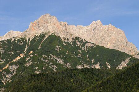 saalfelden: View from Saalfelden in Austria in direction of Berchtesgaden