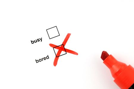 Busy or bored Stock Photo - 5155628