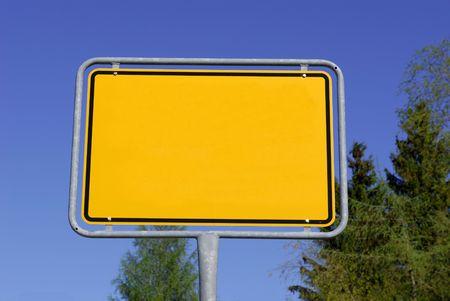Placename sign Stock Photo - 5407828