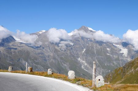 The Grossglockner - Hochalpenstrasse is one of the most famous alpine roads in Austria Stock Photo - 5612526