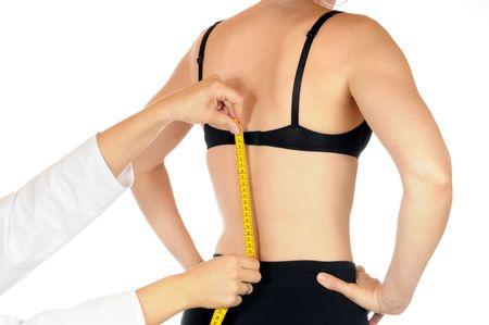Spine measuring  photo