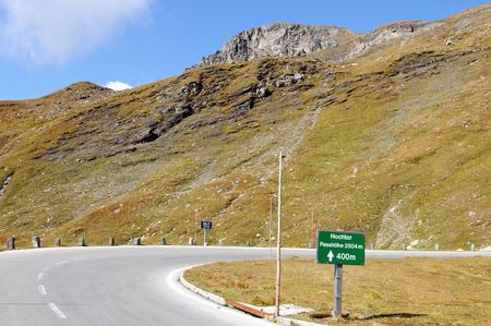 The Grossglockner - Hochalpenstrasse is one of the most famous alpine roads in Austria Stock Photo - 5720131