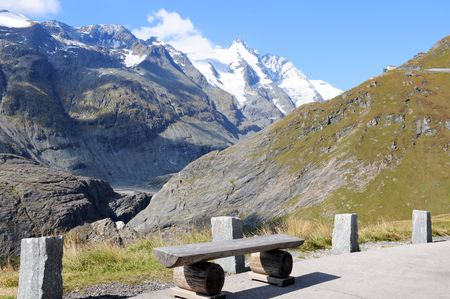 The Grossglockner - Hochalpenstrasse is one of the most famous alpine roads in Austria Stock Photo - 5720133