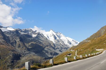 Road to the Franz-Josefs-Height at the Grossglockner Stock Photo - 6066155