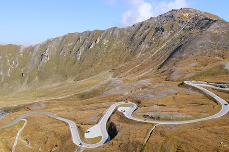 Grossglockner Hochalpenstrasse is one of the most famous alpine roads in Austria Stock Photo - 6480186