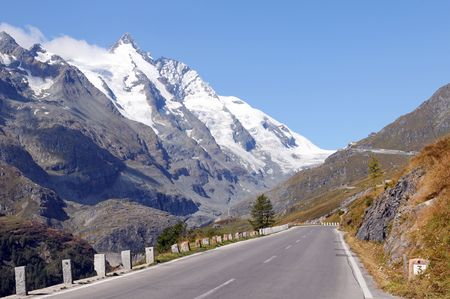 Road to the Franz-Josefs-Height at the Grossglockner Stock Photo - 6759975