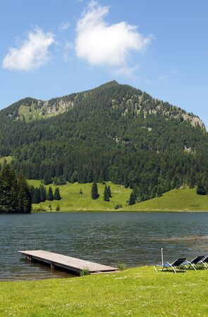 tranquille: Spitzingsee Lake in Bavaria